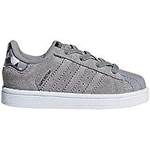 adidas Superstar El I, Zapatillas de Estar por casa Unisex bebé