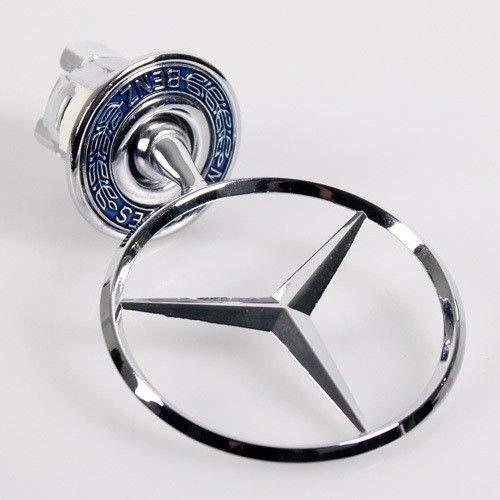 Preisvergleich Produktbild BEN 44 mm Metall Stern Auto Motorhaube Emblem Emblem