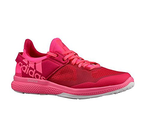 Chaussures Adidas Performance Atani Bounce formation, Gras rose / blanc / rose gras, 5 M nous Bold Pink/White/Bold Pink