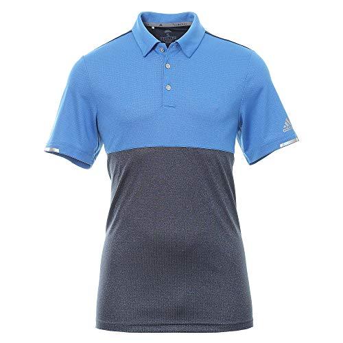 adidas Herren Climachill Heather Competition Polo Shirt Poloshirt Blau (Azul Dq2240) Medium -