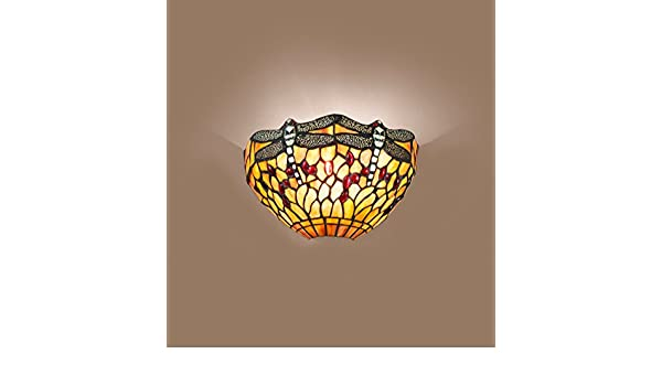 Applique tiffany: amazon.it: illuminazione