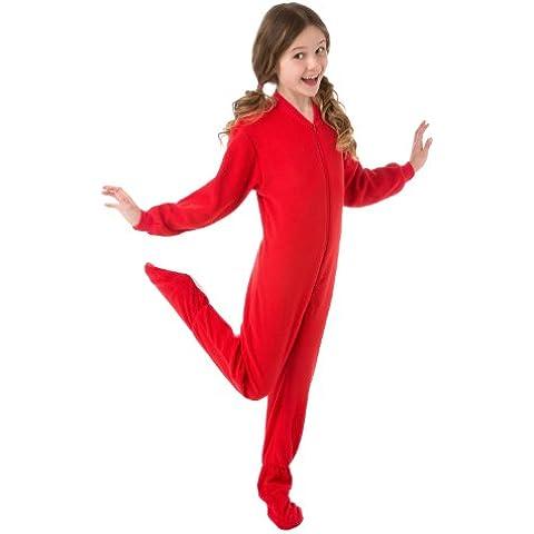 Big Feet pigiama in pile per bambini