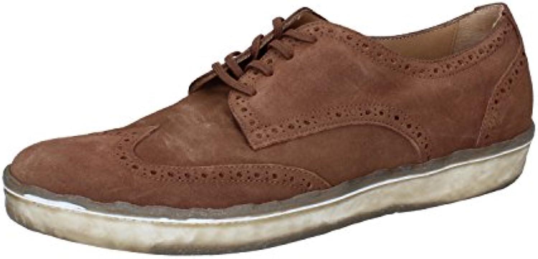 Zapatos Hombre Botticelli Limited Sneakers Marrón Gamuza AK950 (40 EU)
