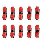 Alightings Connecteurs de fils,Splice rapide Sans décaper les fils Compatible avec 22-20 AWG Câble pour Certaines utilisations automobiles moulants (pack de 10, I Type 1pin)...