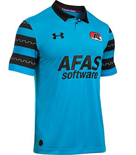 Under Armour AZ Alkmaar Fussball Trikot Away 2016 2017 Herren Polyester Größe M -