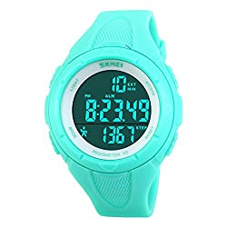 SKMEI Pedometer Women Digital Wristwatches LED Health Sports Watches Waterproof Girls For Gift Alarm Chrono Calendar Watch 1108