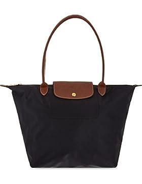 Longchamp Le Pliage Schwarze große Taschen-Tasche