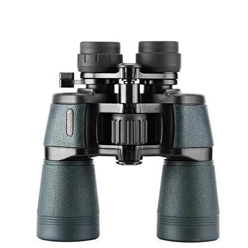 Télescope Jumelles Fort grossissement Vision nocturne à faible niveau de lumière 10x50 Grand oculaire extérieur Adulte Enfant Étanche à l'azote Pêche, observation des oiseaux, concert, alpinisme, vélo, camping, visites touristiques