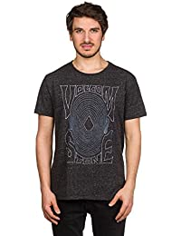 Volcom Mind Ripples Tri Tee Heather Black