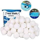 Aitsite Balles Filtrantes - Billes filtrantes 700g / 8 L Alternative pour 25 kg de...