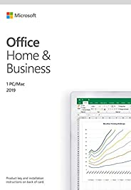 Microsoft Office Home and Business 2019 Genuine Lifetime Validity, 1 PC or MAC