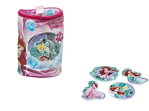 Sambro Little Mermaid Ariel Bath Foam Puzzle