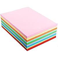 A4varios colores papel para Origami 10Color por LinTimes 100hojas/bolsas