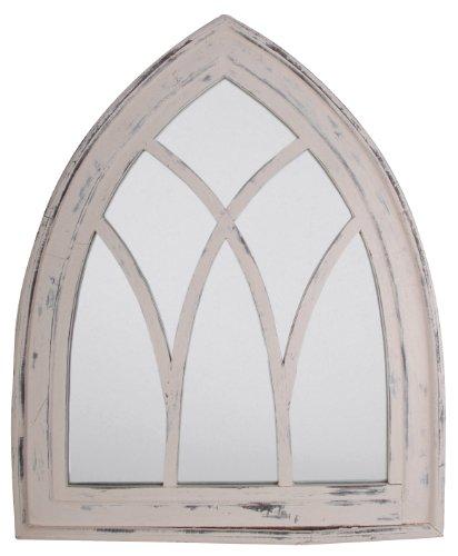 ESSCHERT DESIGN WD10 66 x 5 x 80 cm madera y espejo de cristal...