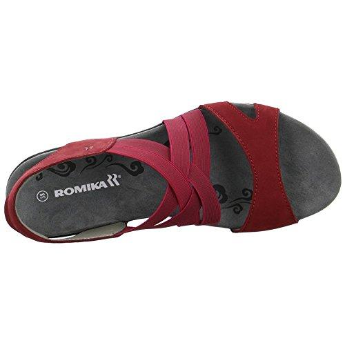 Romika 3030610/400, Sandali donna Rosso