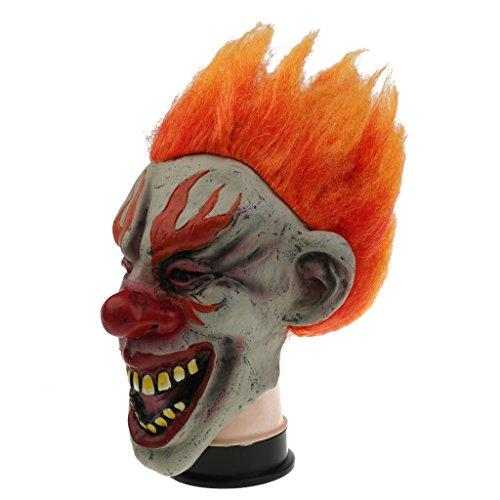 n Maske Latex Maske Halloween Karneval Kostüm Fasching Party - Lächeln (Lächeln Maske Halloween)