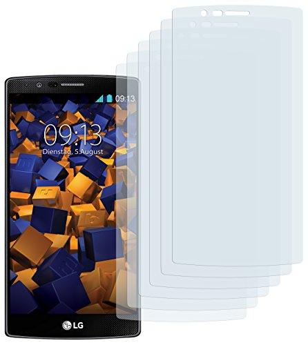 6 x mumbi Schutzfolie LG G4 Folie Displayschutzfolie