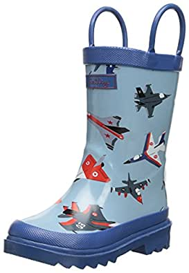 hatley Unisex-Child RainBoots RB0PLPL001 Fighter Jets 5 UK Child, 23 EU