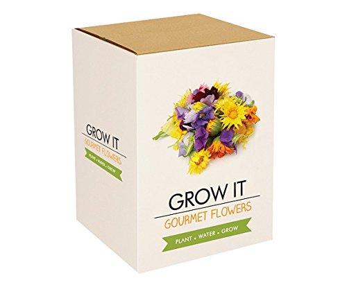 Grow It Pflanz Set Essbare Blumen Geschenk Anzuchtset