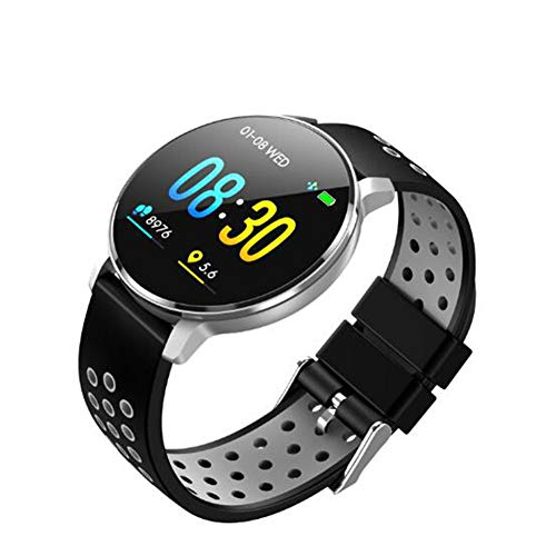mart Watch Sport Smart Watch Verbesserte Präzision Ip68 Schwimmen Bluetooth Fitness Tracker Herzfrequenz-Informationen ()