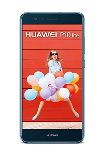HUAWEI P10 Lite Smartphone (13,2 cm (5,2 Zoll) kapazitiver Touchscreen, 32 GB, Android 7.0) Blau