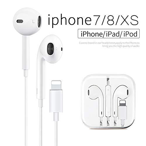 Auricolari in-Ear, Auricolari con Microfono e Telecomando Per Phone 7/7 Plus / 8 / 8Plus / X / XS / XS Max / XR