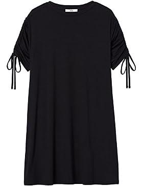 FIND Vestito Oversize con Manica Corta Donna