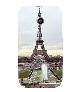 EPICCASE Effile Tower Mobile Back Case Cover For Moto E (Designer Case)