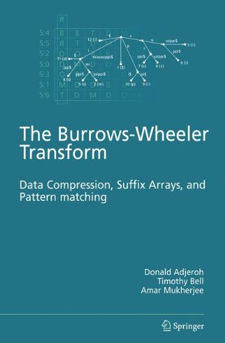 The Burrows-Wheeler Transform: : Data Compression, Suffix Arrays, and Pattern Matching