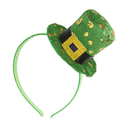 St. Patrick's Day Hut Minizylinder Irland Leprechaun Fascinator Irischer Hut Damenzylinder Minihut St Particks Day ()