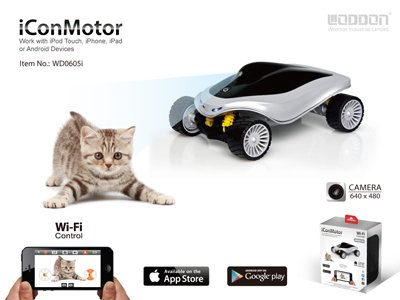 Express Panda Iconmotor Smartphone Controlled Rc Smart Car With