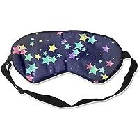 Colorful Stars In Sky Sleep Eyes Masks - Comfortable Sleeping Mask Eye Cover For Travelling Night Noon Nap Mediation... preisvergleich bei billige-tabletten.eu