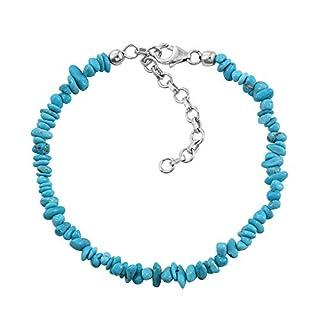 Artisan Crafted Sleeping Beauty Turquoise Bracelet 7.5