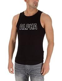 Alpha Industries Track Tank Black
