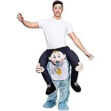 Carry Me – Disfraz cavalcioni Bebe para adultos, talla única, ...