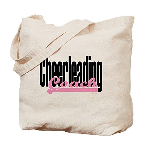CafePress–Cheerleading Coach Pink–Leinwand Natur Tasche, Reinigungstuch Einkaufstasche Tote S khaki