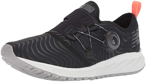 New Balance Women's Sonic V2 FuelCore Running Shoe, Black, 5 B US