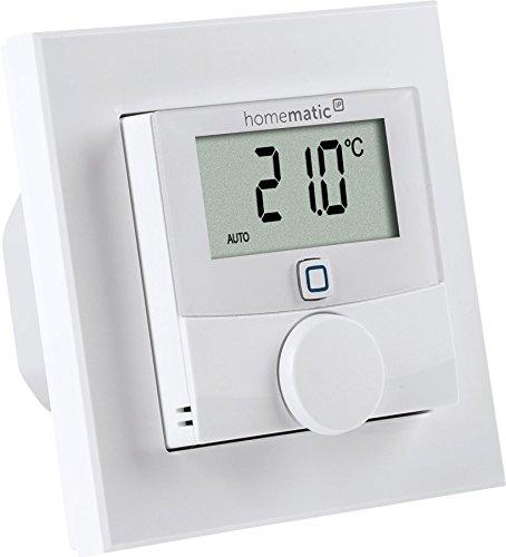 Homematic IP Wandthermostat mit Schaltausgang - für Markenschalter, 150628A0 -