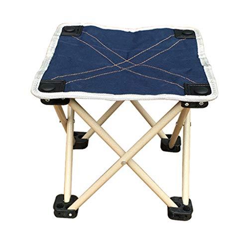 Tabouret Pliant, Chaise de pêche Polyvalente, Chaise Pliante Adulte Simple/Oxford Bumazar (Couleur : Blue 2)