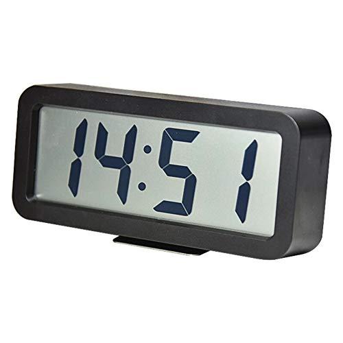 Reloj Despertador Escritorio durmientes Pesados   Relojes eléctricos con Pilas Grande Pantalla Digital...