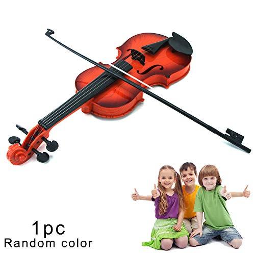 1pc Simulation Violine Musical Spielzeug-Kind-Instrument Spielzeug Pädagogisches Spielzeug Violine Spielzeug Für Kinder Älter Als 2 Jahre Alten, Zufällige Farbe