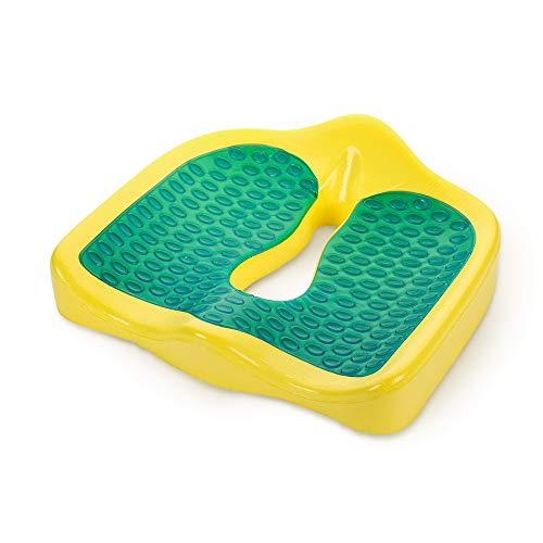 HMRWYL Summer Gel Enhanced Seat Kissen, Non-Slip Orthopädische Memory Foam Tailbone Pain Relief Office Chair Car Buttocks Pads Pads,B