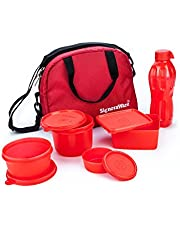 Signoraware Sling Plastic Lunch Box Set with Bag