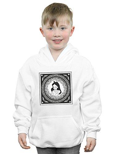 Disney Jungen Alice In Wonderland Box Kapuzenpullover 5-6 Years Weiß Wonderland Kinder Hoodie