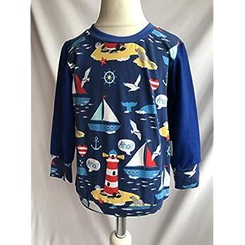 Pullover Maritim auf blau 86