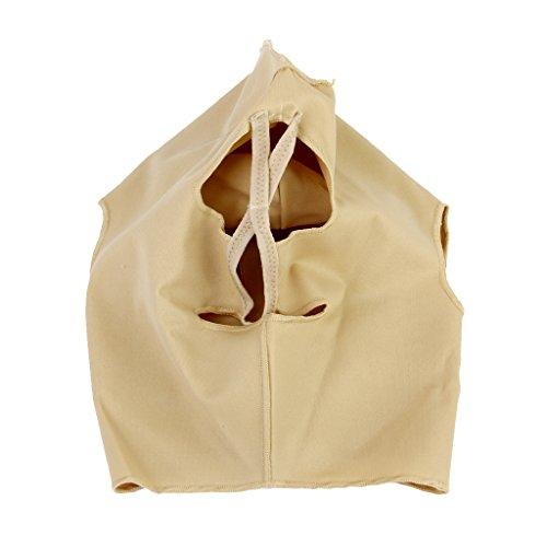 Masque Serré Soin du Visage Plein Lifting Instantané pour Menton Rides Taille XL