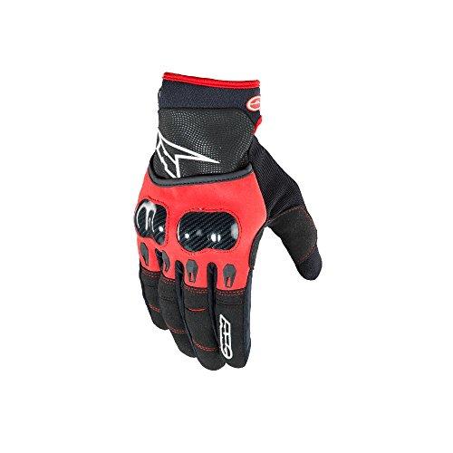 Axo Handschuhe vr-x Evo, schwarz/rot, Größe XL