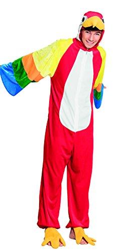 Boland 88168 Teenager Kostüm Papagei Plüsch, unisex-adult, One Size (Teenager Kostüme)