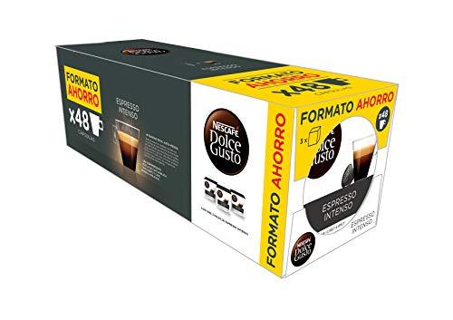 NESCAFÉ Dolce Gusto Café Espresso Intenso | Pack de 3 x 16 Cápsulas - Total: 48 Cápsulas de...