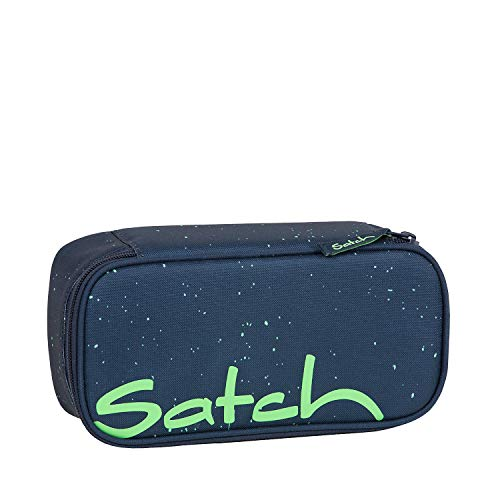 SATCH Space Race Federmäppchen, 22 cm, 0.3 Liter, Blue Green Speckled -